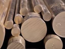 Круг бронзовый 6, 0мм-230, 0мм бронза БрОЦС, БрАЖ, БрБ2, БрО
