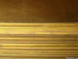 Лист бронзовый 15мм БрХ; БрАЖ; ОЦС; БрАЖН; БрАМц Украина