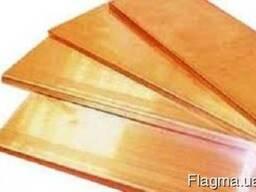 Лист бронзовый БрХ-1, БрБ2 ГОСТ 17328-78, 614-93