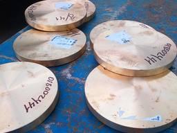 Бронзовые плиты, листы под заказ от 15 мм