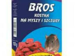 Бросс Брикеты от мышей и крыс 100г (100г)