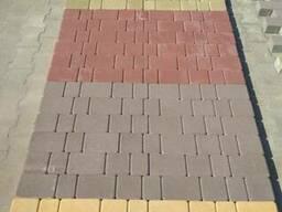 Бруківка бетонна , Бордюр
