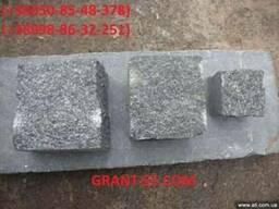 Бруківка гранітна Габбро колота
