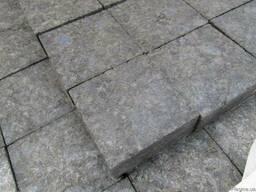 Бруківка Гранитная брусчатка Полнопиленая Термообработанная - фото 1
