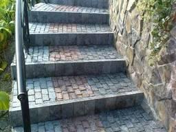 Колота тротуарна плитка з граніту