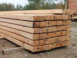 Брус деревянный, Строительный брус, Стропила.