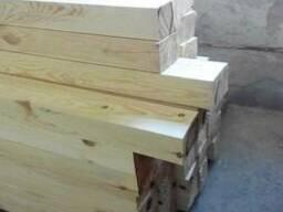 Брус строганный сухой 100х150 мм не дорого пиломатериалы