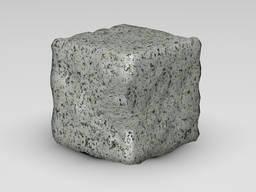 Брусчатка из Богуславского гранита 150x150x150 галтованная