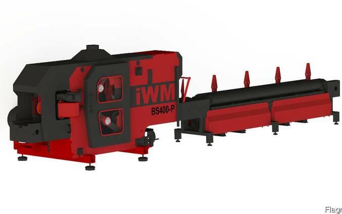 Брусовочный станок двухвальный iWM BS400P
