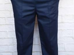 Брюки медицинские мужские с карманами синие.