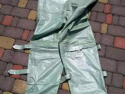 Брюки водонепроницаемые с калошами (аналог брюк от костюма Л-1), рост 3