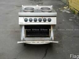 Бу электрическая плита профессиональная Zanussi для ресторан