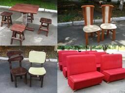 Бу мебель для кафе, ресторанов, общепитов