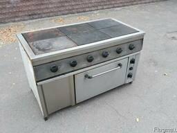 Бу плита электрическая на 6 конфорок для столовой ресторана