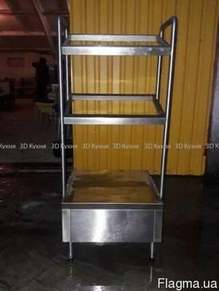 Бу прилавок для посуды (элемент линии раздачи для кафе) 2700