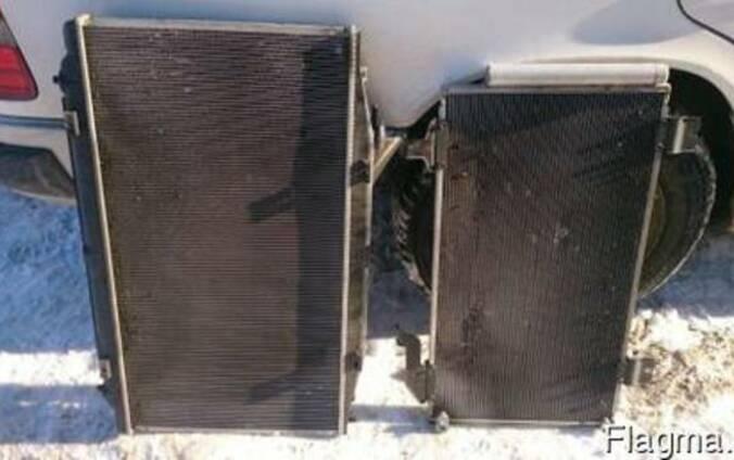БУ Радиатор кондиционера (Кондиционер, обогреватель, вентиля