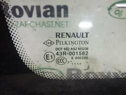 Б/У Стекло боковое левое (Универсал) Renault Laguna 3 2007-2012 (Рено Лагуна 3). ..