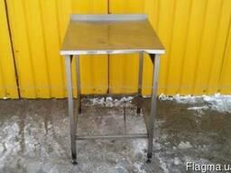 Бу стол из нержавеющей стали для кухни кафе или общепита, 13