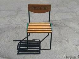 Бу стулья для летней площадки кафе, 40шт Киев
