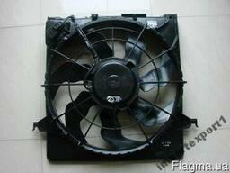 БУ Вентилятор осн радиатора (Система охлаждения) на Kia Ceed