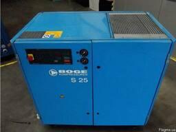 Бу винтовой компрессор Boge S-25 3030 л/мин 18, 5 кВт