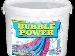 Bubble Power універсальний пральний порошок 3кг.(відро)