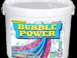 Bubble Power універсальний пральний порошок 10кг.(відро)