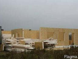 Будівництво будинків із сіп панелей.