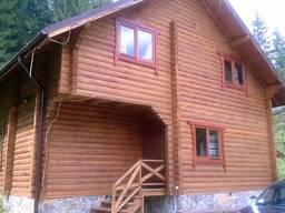 Будівництво дерев'яних котеджів, бань, бесідок