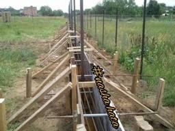 Будівництво паркану, огорожа під ключ. Установка. Виробник.