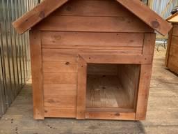 Будка для собак утеплённая