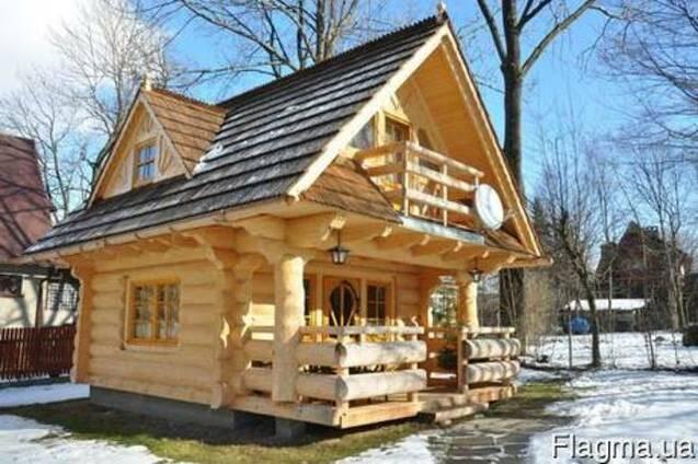 """Будуємо дерев""""яні будинки"""