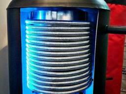Буферная емкость 500 литров в утеплителе, аккумулирующий бак