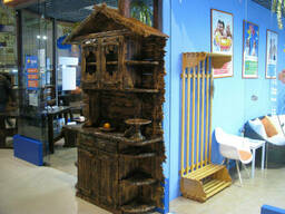 Буфет деревянный под старину