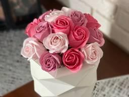 Букет із мильніх троянд!