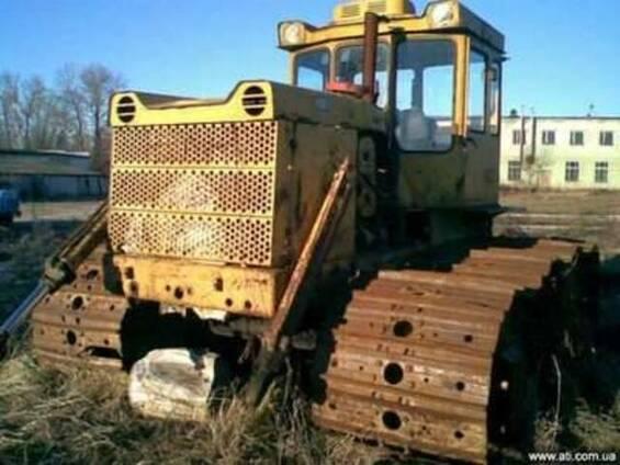 Бульдозер Т-170Б, рабочее состояние