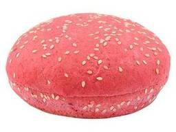 Булочка для гамбургера свекольная с кунжутом 65г