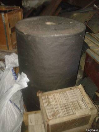 Крафт Бумага чёрная матовая упаковочная в рулонах