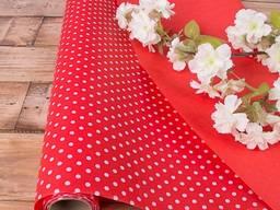 Бумага двухсторонняя для упаковки подарков и флористики