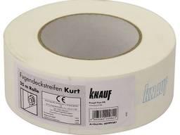 Лента бумажная для швов гипсокартнона KURT 25 м