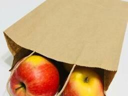 Бумажные крафт-пакеты с кручеными ручками