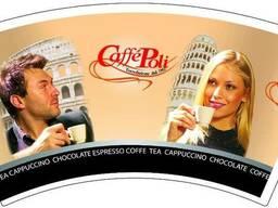 Бумажные стаканчики кофе-вендинг оптом в Одессе - фото 1