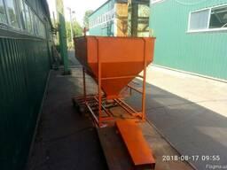 Бункер бадья для бетона конусный