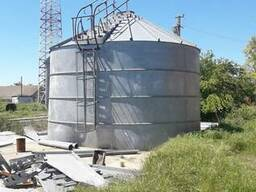 Бункера (силоса) для хранения и сужки зерна