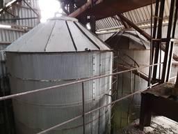 Бункера вентилируемые ОБВ 25 охладитель зерна