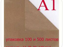 Бурая крафт бумага А1