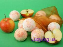 Бурлящий шар для ванн Яблоко / 1шт х 125 г