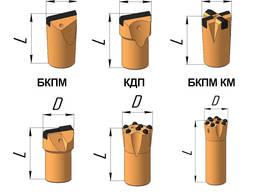 Коронка буровая БКПМ-КМ 43х25