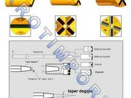 Буровые коронки БКПМ 40-25, БКПМ 36-22, БКПМ 32-22, БКПМ 43-