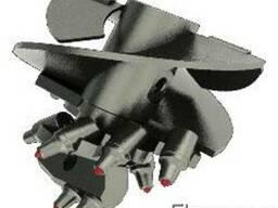 Буры лопастные для машин серии БКМ-317, БМ-302, БМ-305, БМ-3